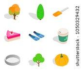 strict vegetarian icons set....   Shutterstock .eps vector #1050329432