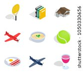 business variety icons set.... | Shutterstock .eps vector #1050330656