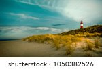 Red And White  Lighthouse Sylt