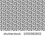 geometric vector pattern with...   Shutterstock .eps vector #1050382832