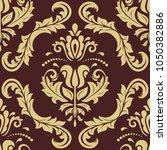 orient vector classic pattern.... | Shutterstock .eps vector #1050382886