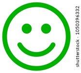 glad smiley vector pictogram.... | Shutterstock .eps vector #1050396332