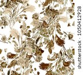 watercolor seamless pattern.... | Shutterstock . vector #1050412928