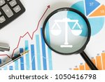search loupe magnifier attorney ... | Shutterstock . vector #1050416798