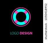 logo design. sailing logo... | Shutterstock .eps vector #1050418952