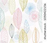 fashionable seamless pattern... | Shutterstock .eps vector #1050422156
