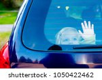 child girl closed alone in the... | Shutterstock . vector #1050422462