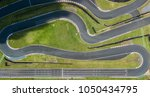 top view of a kart track | Shutterstock . vector #1050434795