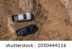 Aerial View Of Off Road Car...
