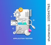 application testing concept for ...