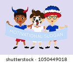 fan of philippines national... | Shutterstock .eps vector #1050449018