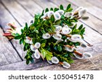 sticks decorated with various... | Shutterstock . vector #1050451478