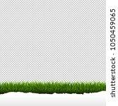 grass border isolated... | Shutterstock .eps vector #1050459065