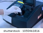 Small photo of Determination of bacterial growth by the optical density using spectrophotometer