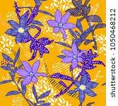 summer seamless  pattern vector ... | Shutterstock .eps vector #1050468212