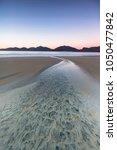 luskentyre beach on the isle of ...   Shutterstock . vector #1050477842