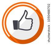 like orange flat design vector... | Shutterstock .eps vector #1050488702