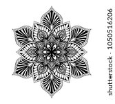mandalas for coloring book.... | Shutterstock .eps vector #1050516206