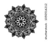 mandalas for coloring book.... | Shutterstock .eps vector #1050516212