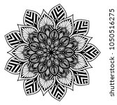 mandalas for coloring book.... | Shutterstock .eps vector #1050516275