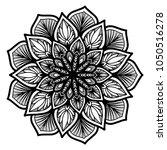 mandalas for coloring book.... | Shutterstock .eps vector #1050516278