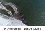 aerial top down photo white... | Shutterstock . vector #1050542366