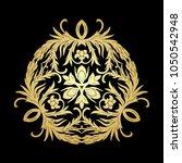 french baroque heraldic elegant ...   Shutterstock .eps vector #1050542948