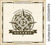vintage oceanic label | Shutterstock . vector #1050568496