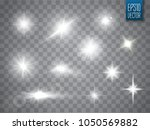 lights sparkles collection.... | Shutterstock .eps vector #1050569882