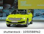 geneva  switzerland   march 6th ...   Shutterstock . vector #1050588962