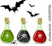 A Set Off Bottles Width...