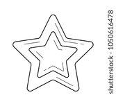 star favourite vector line icon ... | Shutterstock .eps vector #1050616478