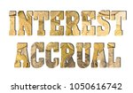 Small photo of Interest accrual, golden coins texture
