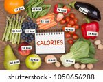 Fruits And Vegetables With...