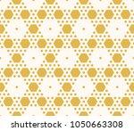 vector geometric seamless... | Shutterstock .eps vector #1050663308