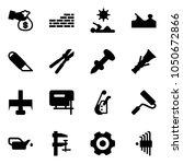 solid vector icon set  ... | Shutterstock .eps vector #1050672866