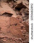 native american indian ruins... | Shutterstock . vector #1050682892