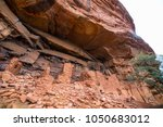 native american indian ruins...   Shutterstock . vector #1050683012