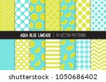 aqua blue limeade vector... | Shutterstock .eps vector #1050686402