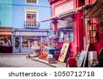 london march  2018  colourful... | Shutterstock . vector #1050712718