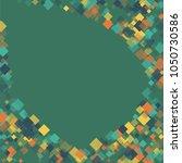 rhombus cover minimal geometric ... | Shutterstock .eps vector #1050730586