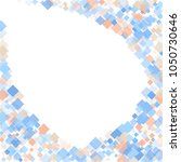 rhombus print minimal geometric ... | Shutterstock .eps vector #1050730646