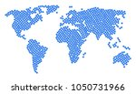 continental map composition... | Shutterstock . vector #1050731966