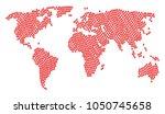 continent map concept organized ... | Shutterstock . vector #1050745658