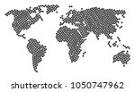 global geography map concept... | Shutterstock . vector #1050747962
