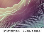 abstract polygonal space low...   Shutterstock . vector #1050755066