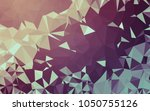 abstract low poly background ...   Shutterstock . vector #1050755126