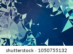 abstract low poly background ...   Shutterstock . vector #1050755132