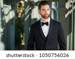 stylish attractive and... | Shutterstock . vector #1050756026