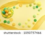 easter. abstraction from...   Shutterstock . vector #1050757466